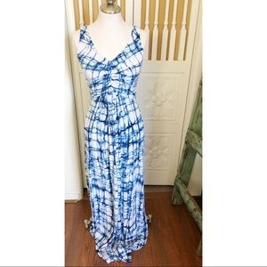 Tart tie dye maxi dress